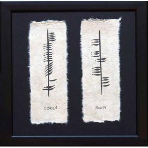 Ogham Two Name Family P..