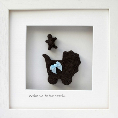 Welcome to the World - New Baby Boy Gift
