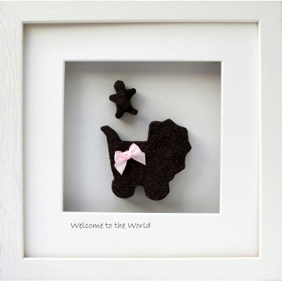 Welcome to the World - New Baby Girl Gift