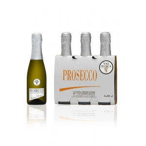 Mini Bottles of Prosecco Val d'Oca - 3..