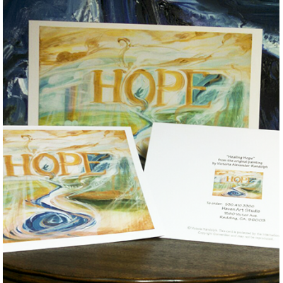 Healing Hope cards packet of 20