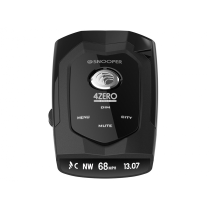 Snooper 4Zero Elite GPS, Radar/Laser Detection