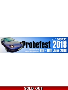 PROBEFEST 2018 FULL MEMBER TICKET