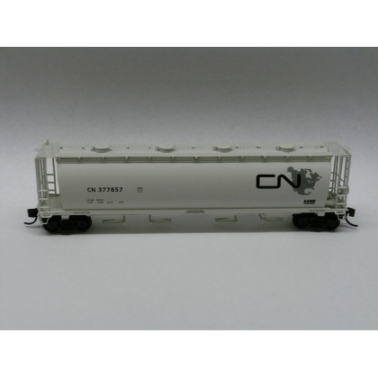 Intermountain N. Cylindrical covered hopper,CN Continent