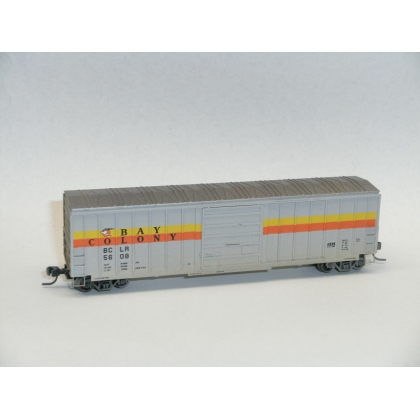 Athearn N. 50ft Weathered Sieco boxcar,Bay Colony 5608