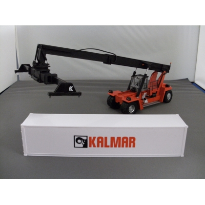 Motorart 1:50th. Kalmar reach stacker with container