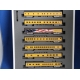Kato N. Union Pacific Excursion Train 7 car set Lighted