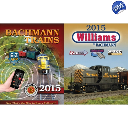Bachmann/Williams. 2015 all scales catalogue