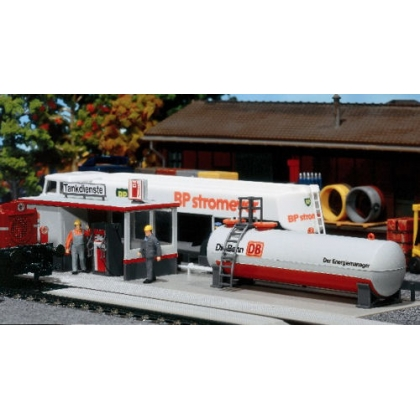 Faller HO. German Railways diesel fueling station kit