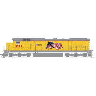 Atlas N. Ge Dash 8 40C,Union Pacific 9..