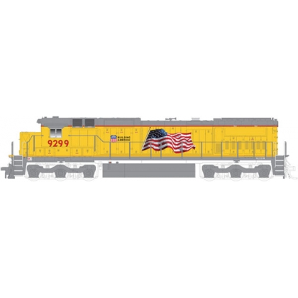 Atlas N. Ge Dash 8 40C,Union Pacific 9299