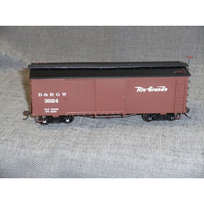 Pre Owned Spectrum On30. Boxcar,Denver & Rio Grande Western 3524