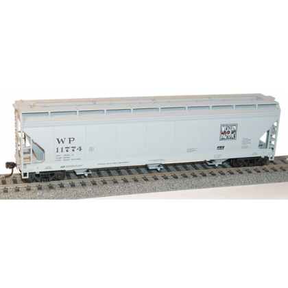 Accurail HO. 3 Bay Covered Hopper,Western Pacific