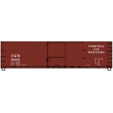 Accurail HO. 40ft DS Wood Boxcar,Norfo..