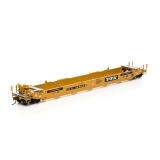 Athearn HO. 56ft Well Car,TTX/Black Re..