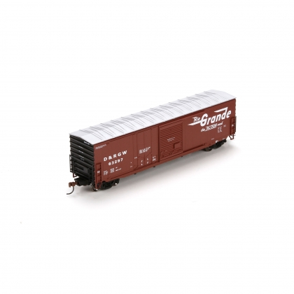 Athearn HO. 50ft Combination Door Boxcar,D&RGW 63297