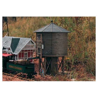 Piko G. Rio Grande Weathered G Scale water tower kit