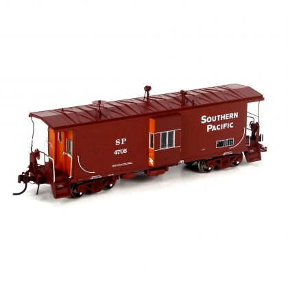 Athearn Genesis HO. C-50-9 Bay Window Caboose,Southern Pacific 4705