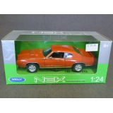 Welly 1:24. 1969 Pontiac GTO,Red