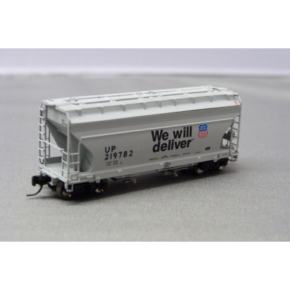 Athearn N. ACF 2970 2 Bay Centre Flow Hopper,Union Pacific 219782