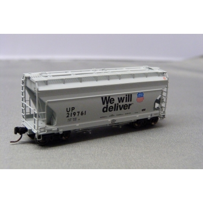 Athearn N. ACF 2970 2 Bay Centre Flow Hopper,Union Pacific 219761