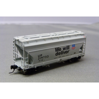 Athearn N. ACF 2970 2 Bay Centre Flow Hopper,Union Pacific 219733
