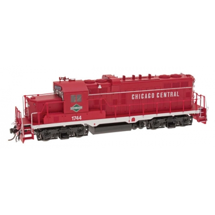 Intermountain HO. EMD GP10 DCC Sound,Chicago Central 1744