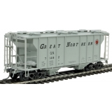 Kadee HO. PS-2 2 Bay Covered Hopper,Gr..
