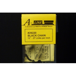 A Line HO/Other Scales. Black chain 12..