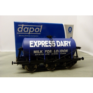 Dapol O.6 Wheel Milk Tanker,Express Da..