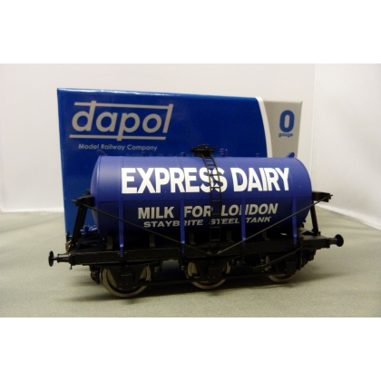 Dapol O.6 Wheel Milk Tanker,Express Dairies