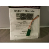 NCE DCC decoder D13SRP with 8 pin plug