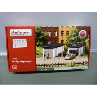 Auhagen HO. Garages kit