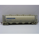 Rapido Trains HO. 3800 Cu Ft Covered H..