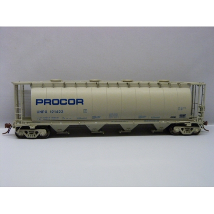 Rapido Trains HO. 3800 Cu Ft Covered Hopper,Procor
