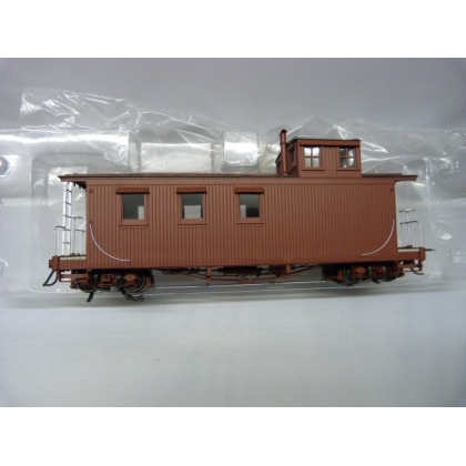 Pre Owned San Juan Car Co On30. Long Caboose,Painted/Unlettered