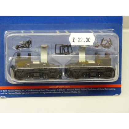 Athearn HO. Front/Rear power truck set for Athearn F7/GP7