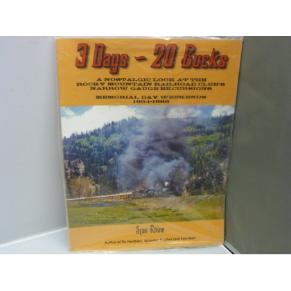White River Productions. 3 Days- 20 Bucks Book