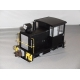 Bachmann G. Davenport 0-4-0 Side Rod Gas Mechanical,Black & Yellow