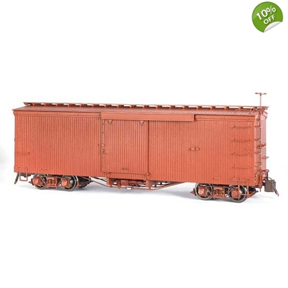 Spectrum 1:20.3 Large Scale. Boxcar,Painted - Unlettered Oxide Red
