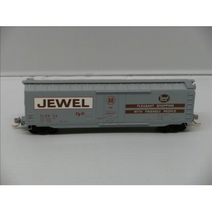 Micro Trains N.50ft Standard Boxcar,Jewel Tea No 33