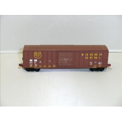 Micro Trains N.50ft Ribside Boxcar,WC No 25324