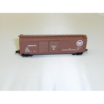 Micro Trains N.50ft Double Door Boxcar,Missouri Pacific No 90257