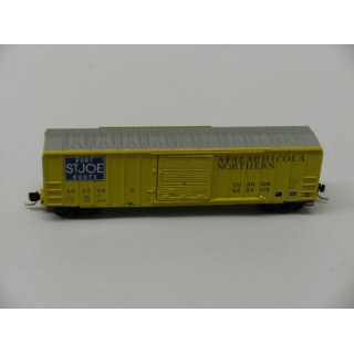 Micro Trains N.50ft Ribside Boxcar,Apa..