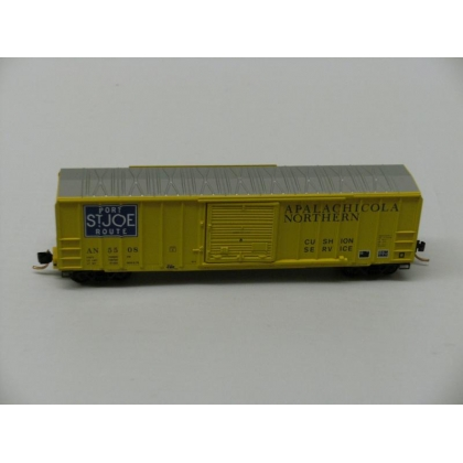 Micro Trains N.50ft Ribside Boxcar,Apalachicola Northern No 5508