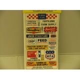 Blair Line HO.Feed & Seed Signs Pk 2