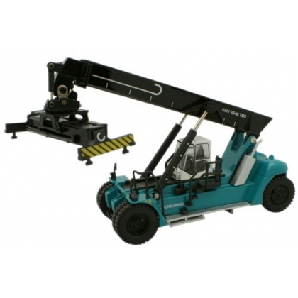 Oxford Diecast 00. Reach Stacker,Konecranes - Blue