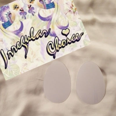 2 Pairs of Madame Crystal Sole Protectors - Perfect for Irregular Choice Shoes!