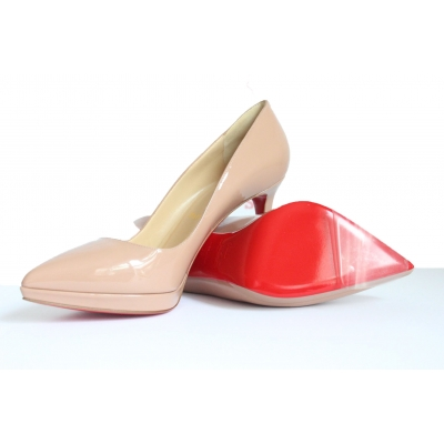 Christian Louboutin - Transparent Sole Protectors for use on ALL designer shoes including Christian Louboutin, Manolo blahnik, Valentino, Jimmy Choo