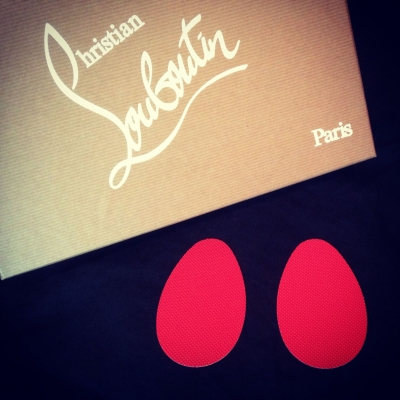 Christian Louboutin Red Sole Protectors - Madame Rouge Sole Protectors